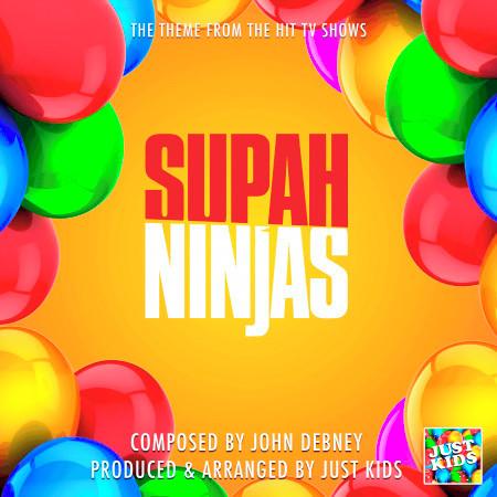 """Supah Ninjas Main Theme (From """"Supah Ninjas"""") 專輯封面"""
