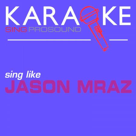 Karaoke in the Style of Jason Mraz 專輯封面