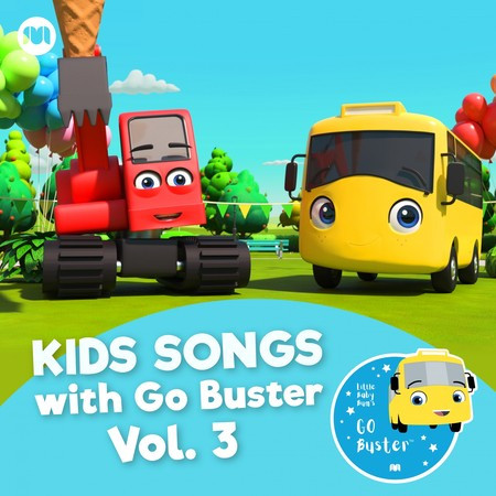 Kids Songs with Go Buster, Vol. 3 專輯封面