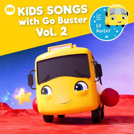 Kids Songs with Go Buster, Vol. 2 專輯封面