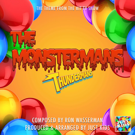 """The Monstermans Theme (From """"The Thundermans"""") 專輯封面"""