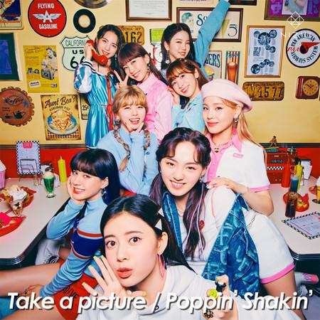 Take a picture / Poppin' Shakin' 專輯封面