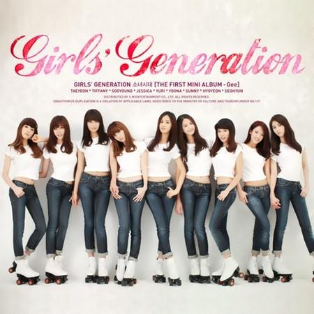 Gee - The First Mini Album 專輯封面