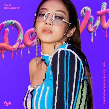DESSERT (Feat. Loopy, SOYEON ((G)I-DLE)) 專輯封面