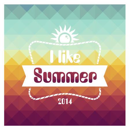 I Like Summer 2014 專輯封面