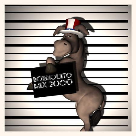 Borriquito Mix 2000 專輯封面