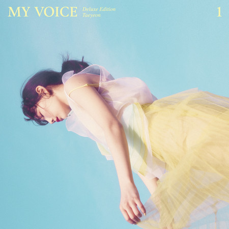 My Voice - The 1st Album Deluxe Edition 專輯封面