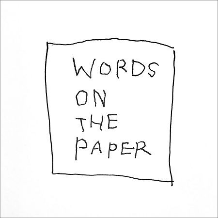 Words on the paper 專輯封面