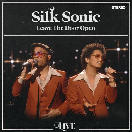 Leave The Door Open (Live) 專輯封面