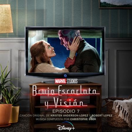 Bruja Escarlata y Visión: Episodio 7 (Banda Sonora Original) 專輯封面