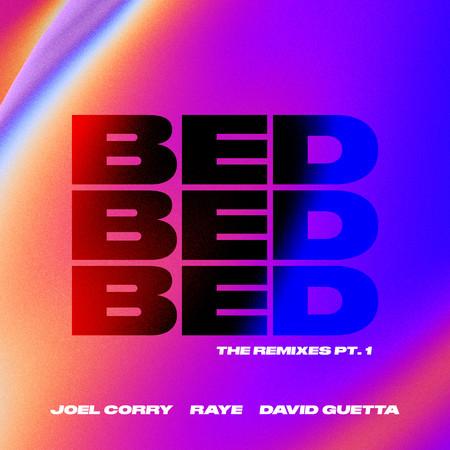 BED (The Remixes) [Pt. 1] 專輯封面