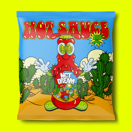 首張正規專輯『Hot Sauce』 專輯封面