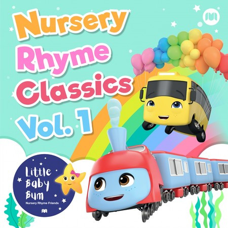 Nursery Rhyme Classics, Vol. 1 專輯封面