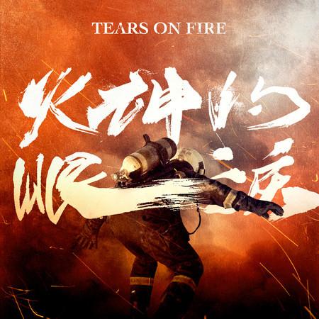 《火神的眼淚》電視劇原聲帶 專輯封面