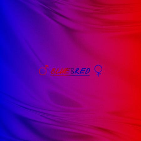 BLUE & RED 專輯封面