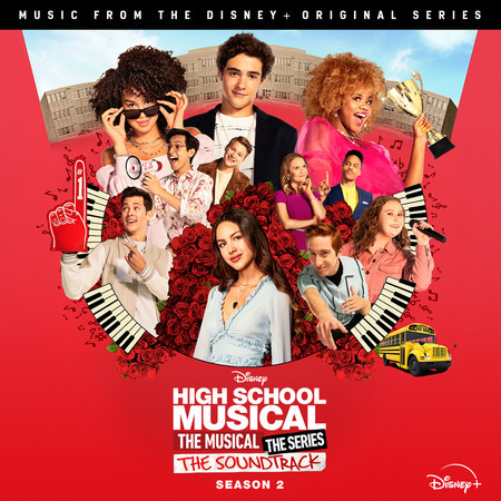 """Bet On It (From """"High School Musical: The Musical: The Series (Season 2)"""") 專輯封面"""