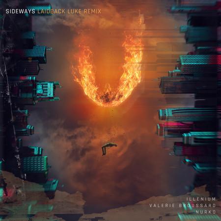 Sideways (feat. Valerie Broussard) (Laidback Luke Remix) 專輯封面