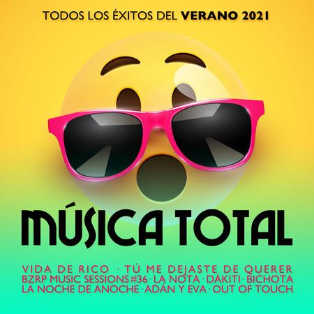 Música Total 2021 專輯封面