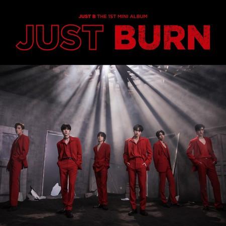 JUST BURN 專輯封面
