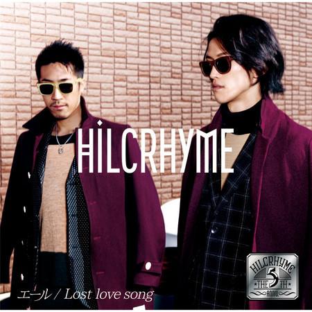 Yell / Lost Love Song 專輯封面