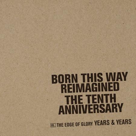 The Edge Of Glory 專輯封面