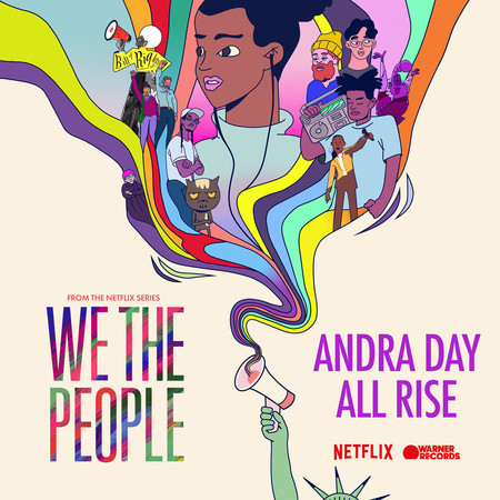 """All Rise (from the Netflix Series """"We The People"""") 專輯封面"""