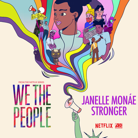 """Stronger (from the Netflix Series """"We The People"""") 專輯封面"""