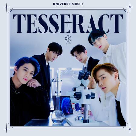 TESSERACT (Prod. HUI, Minit) 專輯封面