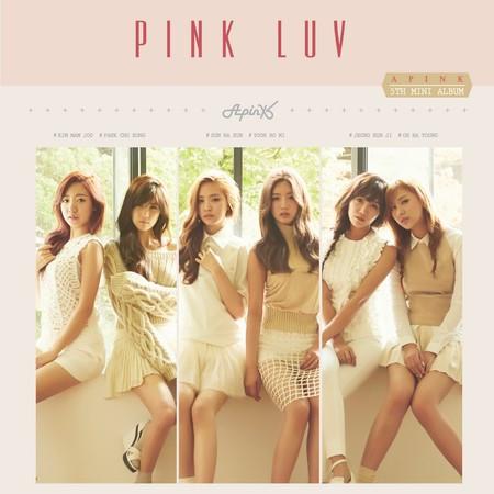 Pink LUV 專輯封面