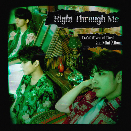 Right Through Me 專輯封面