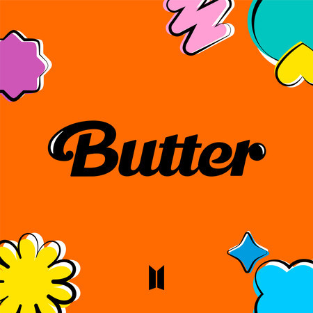 Butter / Permission to Dance 專輯封面