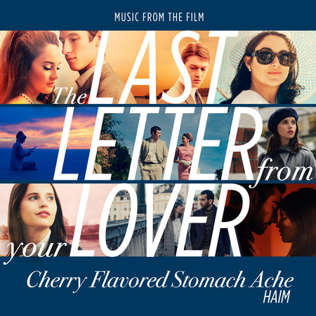 """Cherry Flavored Stomach Ache (From """"The Last Letter From Your Lover"""") 專輯封面"""