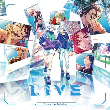 "Paradox Live 2nd album ""LIVE"" 專輯封面"