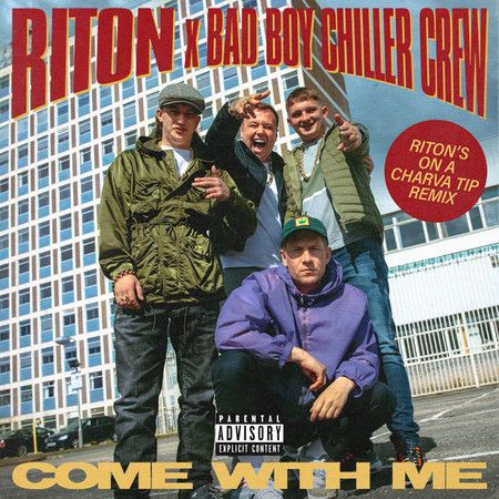 Come With Me (Riton's On a Charva Tip Remix) 專輯封面