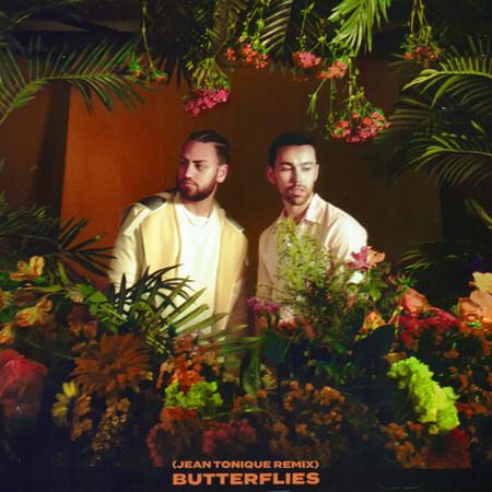 Butterflies (Jean Tonique Remix) 專輯封面