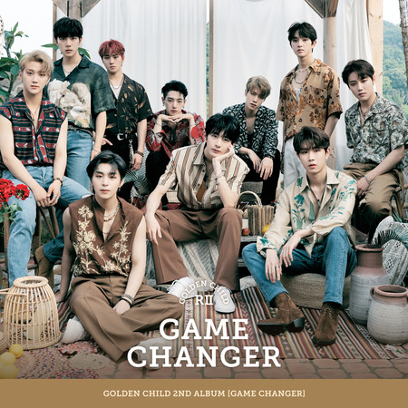 Golden Child 2nd Album [Game Changer] 專輯封面