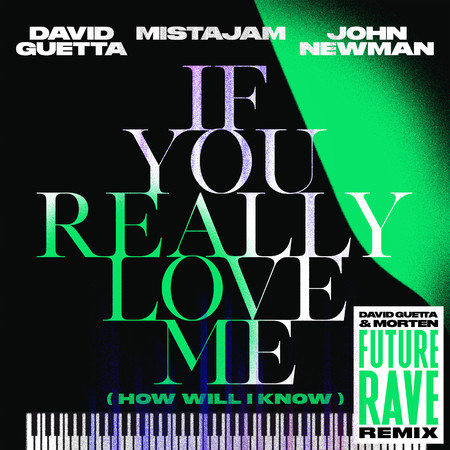 If You Really Love Me (How Will I Know) (David Guetta & MORTEN Future Rave Remix) 專輯封面