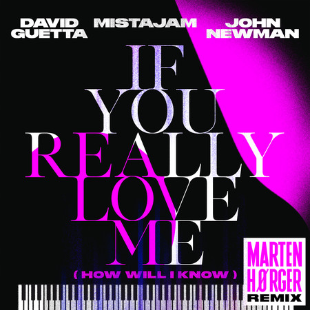 If You Really Love Me (How Will I Know) (Marten Hørger Remix) 專輯封面