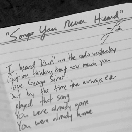 Songs You Never Heard 專輯封面