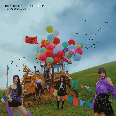 第六張迷你專輯『Queendom』 專輯封面