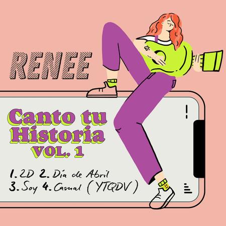 Canto Tu Historia (VOL. 1) 專輯封面