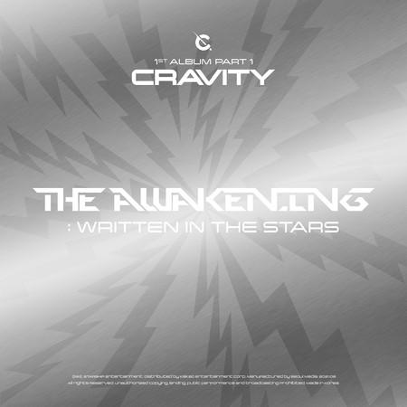 CRAVITY 1ST ALBUM PART 1 [The Awakening: Written In The Stars] 專輯封面