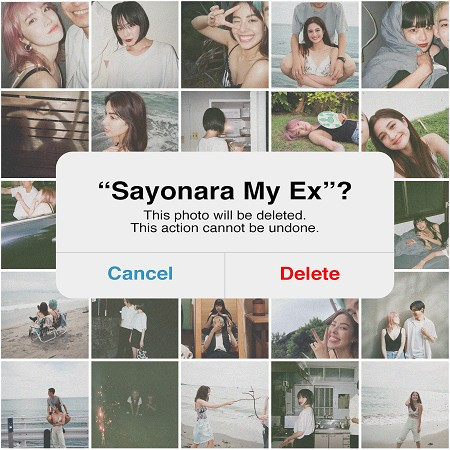 Sayonara My Ex 專輯封面