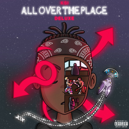 All Over The Place (Deluxe) 專輯封面
