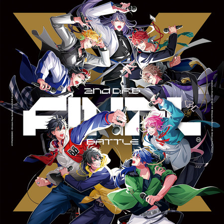 催眠麥克風 -Division Rap Battle- 2nd D.R.B Final Battle『Buster Bros!!! VS 麻天狼 VS Fling Posse』 專輯封面