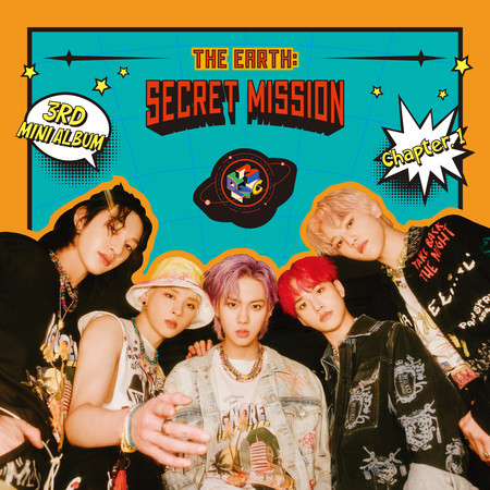 THE EARTH : SECRET MISSION Chapter.1 專輯封面
