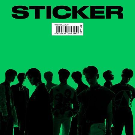 第三張正規專輯『Sticker』 專輯封面