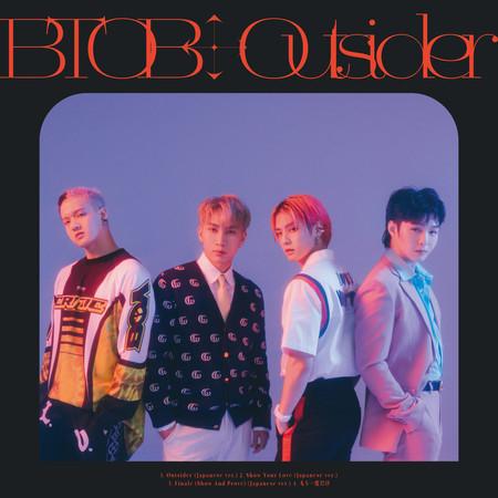 Outsider (Japanese ver.) 專輯封面